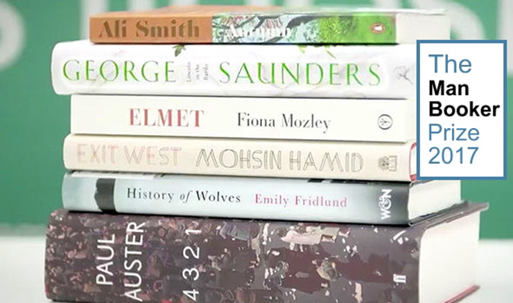 Man Booker Prize for Fiction - Prize Shortlist - 2017