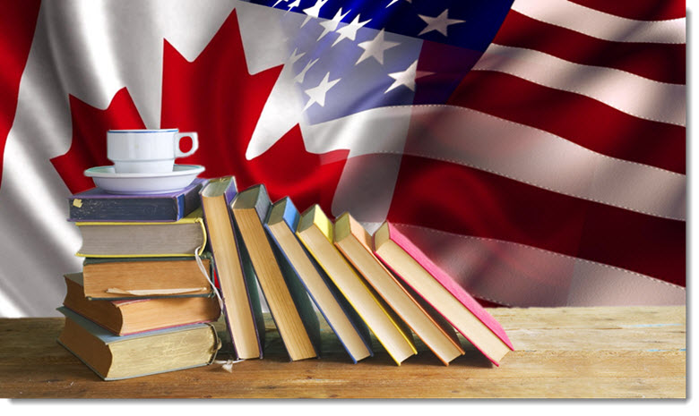 Reading Popularity - Canada versus United States
