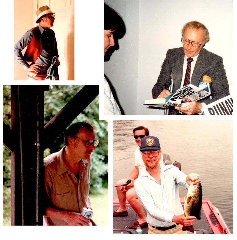 Author Richard Rashke